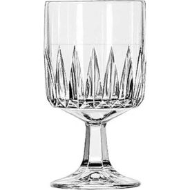 Libbey Glass 15465 Glass Goblet 10.5 Oz., DuraTuff, 36 Pack by