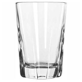 Libbey Glass 15603 Beverage Glass 12 Oz., Dakota Clear, 36 Pack by