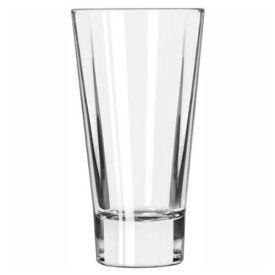Libbey Glass 15824 Beverage Glass 12 Oz., Glassware, Quadra V, 12 Pack by