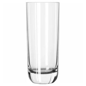 Libbey Glass 2295SR Beverage Glass 14 Oz., Glassware, Envy Sheer-Rim/D.T.E., 12 Pack by