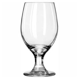 Libbey Glass 3010 Glass Banquet Goblet Perception 14 Oz., 24 Pack by