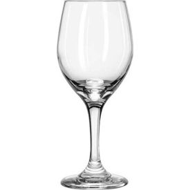 Libbey Glass 3011 Glass Goblet Tall Perception Clear 14 Oz., 24 Pack by