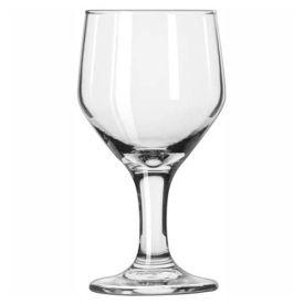 Libbey Glass 3364 Wine Glass 8.5 Oz., Glassware, Estate, 36 Pack by
