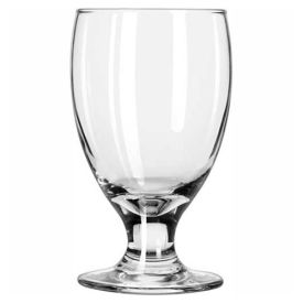 Libbey Glass 3712 Glass 10.5 Oz., Embassy Banquet Goblet, 24 Pack by