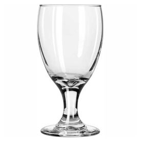Libbey Glass 3721 Glass Goblet Banquet 10.5 Oz., Embassy, 36 Pack by