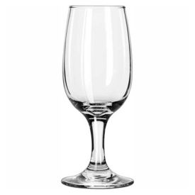 Libbey Glass 3766 Wine Glass Embassy Pear Shape Bowl 6.5 Oz., 36 Pack by