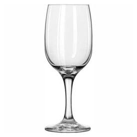 Libbey Glass 3783 Wine Glass 8.75 Oz., Glassware, Embassy, 24 Pack by