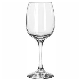 Libbey Glass 3831 Sonoma Wine Glass 8 Oz., 12 Pack by