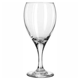 Libbey Glass 3911 Glass Goblet 12 Oz., Teardrop Clear, 36 Pack by