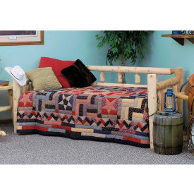 Rustic And Versatile Day Bed - Unfinished/Natural