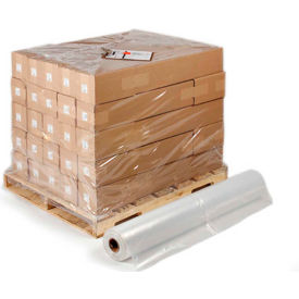 "Pallet Size Shrink Bags on a Roll, 48"" x 46"" x 72"" 4 Mil Clear, 25 per Roll"
