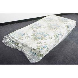 """Mattress Bags, Fits Full Size, 54"""" x 8"""" x 90"""" 1.5 Mil Clear, 100 per Roll"""