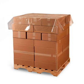 """Poly Pallet Top Sheeting, 108""""W x 108""""L 1.5 Mil Clear, 100 per Roll"""