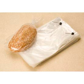 """Wicketed Bags, 9-1/2"""" x 15-1/4"""" + 4"""" Bottom Gusset, 1.25 Mil Clear, 1000/CASE"""