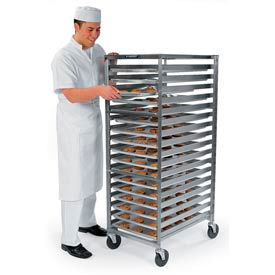 Lakeside® 128 Standard Pan Rack With Channel Ledges - 35 Pan