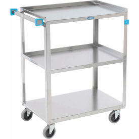 Lakeside Stainless Steel Utility Cart 27-1/2 x 16-1/4 x 32-1/8 300 Lb Cap