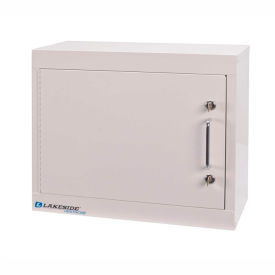 Lakeside® Narcotic Cabinet with 1 Adjustable Shelf, Single Door/Double Lock, Beige