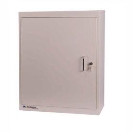 Lakeside® Narcotic Cabinet with 3 Adjustable Shelves, Single Door/Single Lock, Beige