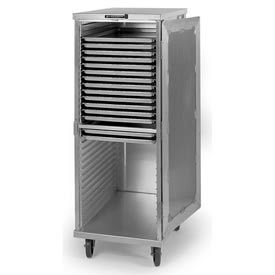 "Lakeside® 5531 Transport Cabinet, Aluminum, 40 Tray Capacity, 20-3/4""W x 27-1/2"" x 68""H"