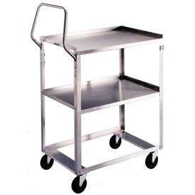 Lakeside® 6600 Ergo-One System Stainless Steel Cart 28 x 16 x 44 300 Lb Cap