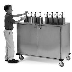 Ez Serve Condiment Cart - 6 Pumps