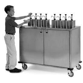 Ez Serve Condiment Cart - 6 Pumps