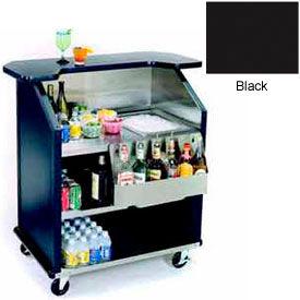 "Geneva Lakeside 43"" Portable Beverage Bar, SS Interior, 884-Black"
