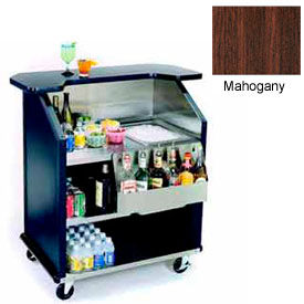 "Geneva Lakeside 43"" Portable Beverage Bar, SS Interior, 884-Mahogany"