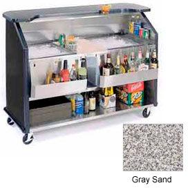 "Geneva Lakeside 64""  Beverage Bar w/ TWO Insulated Ice Bin, 886-GreySand"