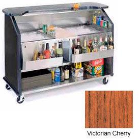 "Geneva Lakeside 64"" Beverage Bar w/  TWO Insulated Ice Bin, 886-VictorianCherry"