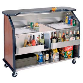 Party Pleaser Bar - 2 Ice Bin - Red