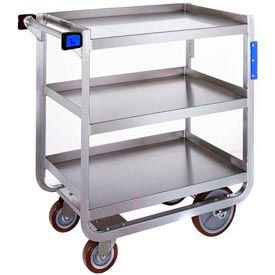 Lakeside® 944 Tough Transport 3 Shelf Cart 39 x 22-3/4 x 37-3/8 1000 Lb Cap