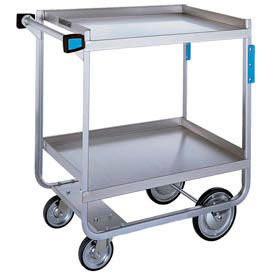 Lakeside® 958 Tough Transport 2 Shelf Cart 55 x 22-3/4 x 37 1000 Lb Cap
