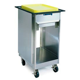 "Lakeside® 997, Open Mobile Tray And Glass Dispenser - 23"" X 25"""