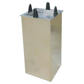 "Lakeside® S5009, Square Shielded Drop-In Plate Dispenser - 8-1/2"" To 9-1/4"" Plates"