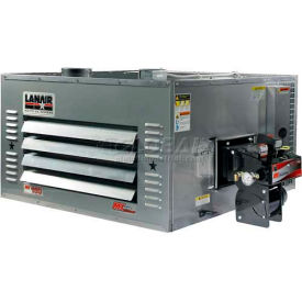 Lanair® Waste Oil Heater, MX-150D, 150000 BTU With 215 Gallon Tank, Wall Chimney Kit