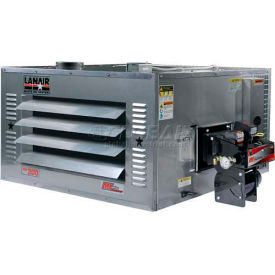 Lanair® Waste Oil Heater MX-200A, 200000 BTU With 80 Gallon Tank, Roof Chimney Kit