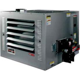 Lanair® Waste Oil Heater MX-250D, 250000 BTU With 215 Gallon Tank, Wall Chimney Kit
