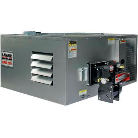 Lanair® Ductable Waste Oil Heater, MXD-200D, 200000 BTU With 215 Gallon Tank, Wall Chimney Kit