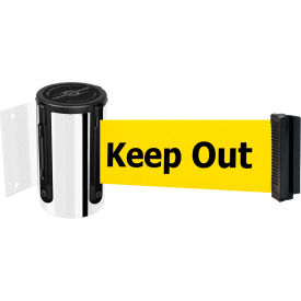 Crowd Control Wall Mounted Retractable Barriers