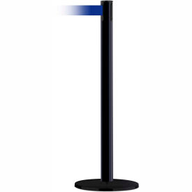 Black Outdoor Marine Post, 13 Ft., Blue Belt
