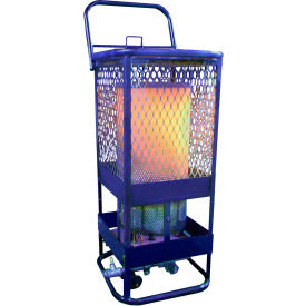 L.B. White® Portable Gas Radiant Heater, 125K BTU, Natural Gas - Sun Blast 125