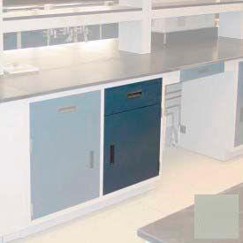 "Lab Base Cabinet 18""W x 22-1/2""D x 35-3/4""H, 1 Drawer, 1 Cupboard Door W/1 Adj Shelf, Champagne"