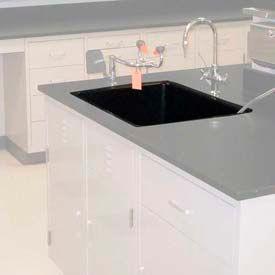 "Epoxy Drop-In Sink, 24""W x 16""D x 8""H"