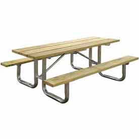 Benches Amp Picnic Tables Picnic Tables Wood 8 Ft