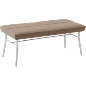 Mystic 2 Seat Bench, Fandango Ebony Fabric