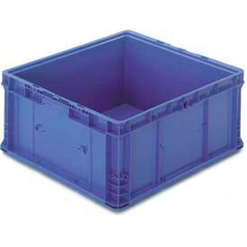 """ORBIS Stakpak NXO2422-14 Modular Straight Wall Container, 24""""L x 22-1/2""""W x 14-1/2""""H, Blue"""