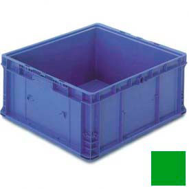 "Orbis Stakpak Modular Straight Wall Container, 24""L X 22-1/2""W X 14-1/2""H, Green"