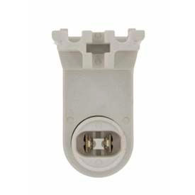 Leviton 13464 Fluorescent Lampholder, Plunger, Pedestal Base with 20GA Side Grooves Package Count 10 by