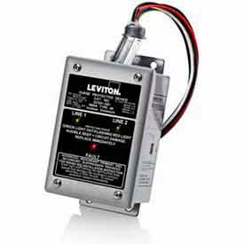 Leviton 32120-1 Single Phase, Branch Panel Mount Surge Protection Device